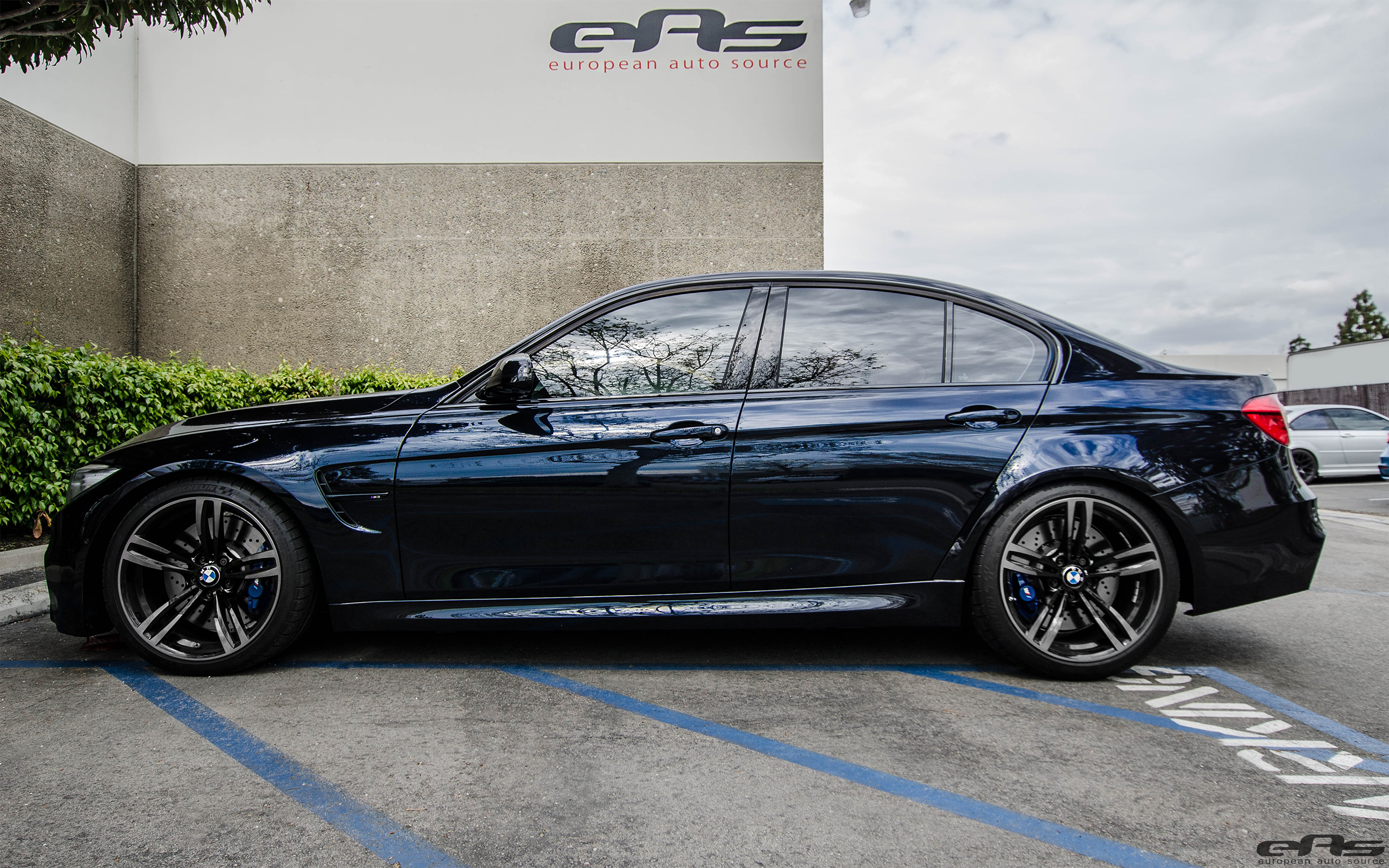 Gorgeous Azurite Black Metallic BMW F80 M3 Project 1