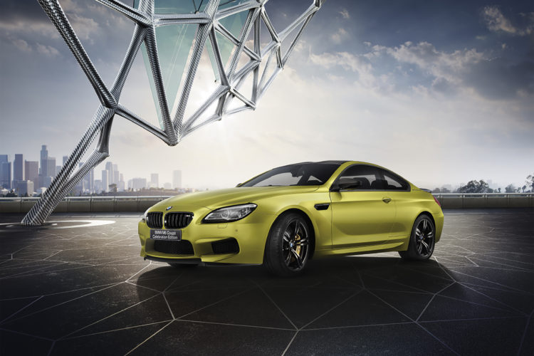 BMW M6 Celebration Edition Unveiled in Japan with 600 HP