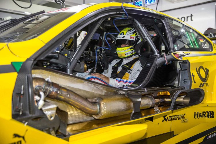 P90220568 munich de 26th may 2016 bmw motorsport akrapovic partnerschip bmw m4 dtm bmw m6 gt3 2250px 750x500
