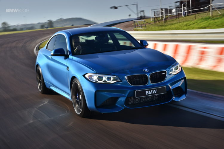 video bmw m2 tested with and without active sound design. Black Bedroom Furniture Sets. Home Design Ideas