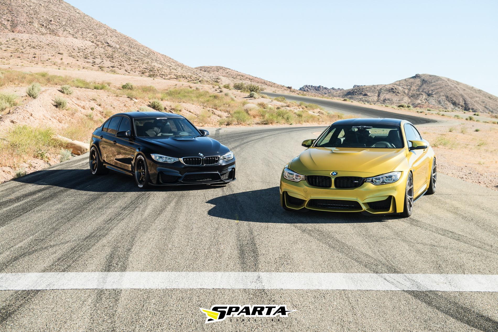 Sparta Evo BMW M3 M4 1