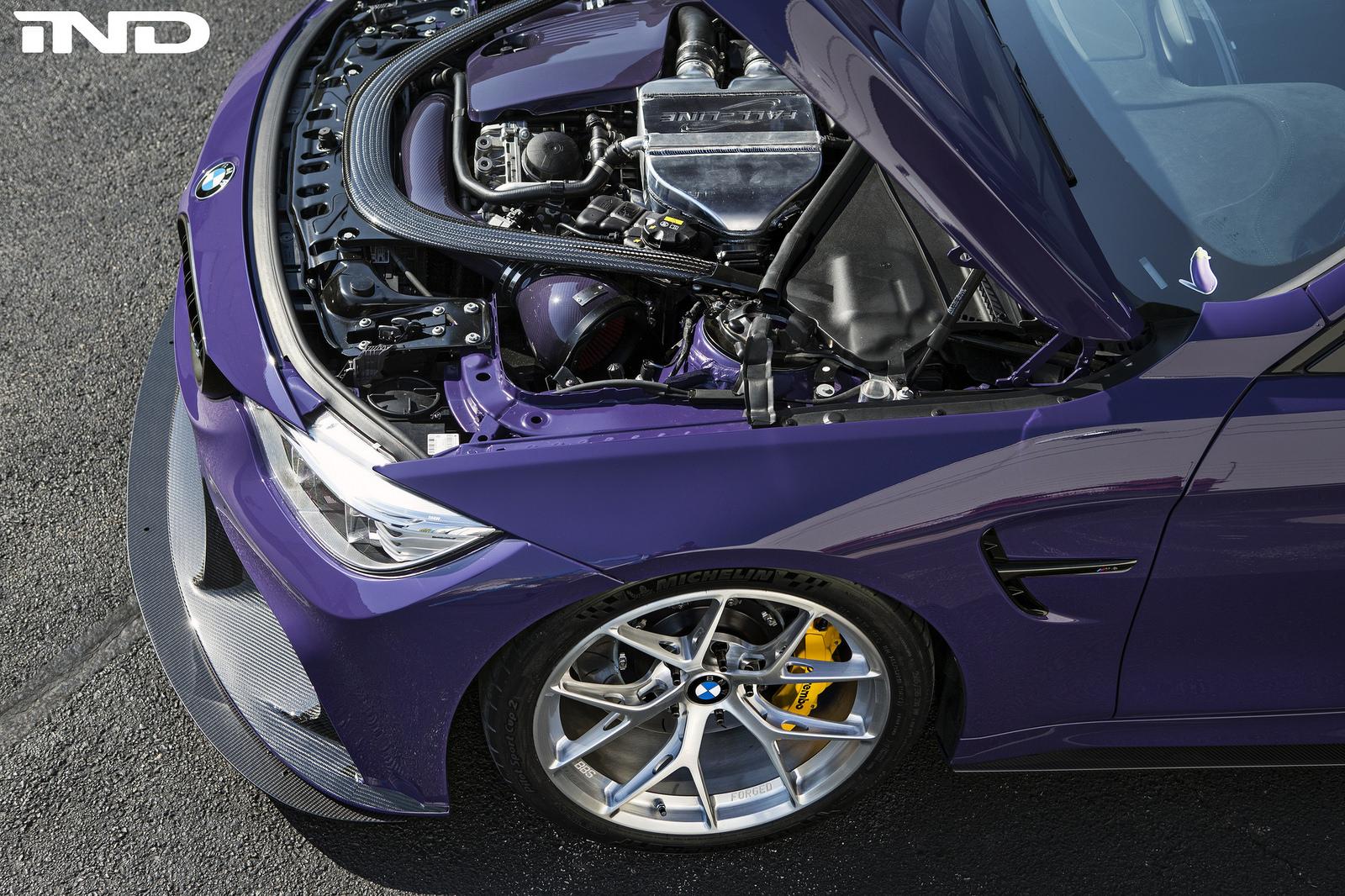 Stunning Purple BMW M4 Project Showcase 3