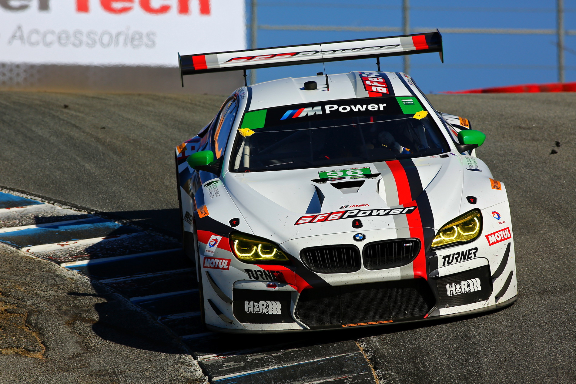 aFe Power BMW M6 GT3 Laguna Seca 27