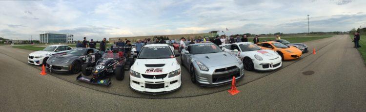 eight of top ten cars