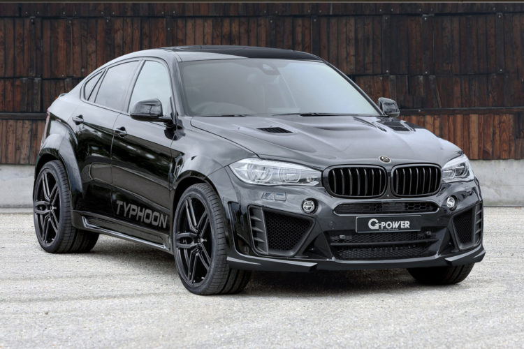G Power Unveils Bmw X6 M Typhoon With 750 Hp
