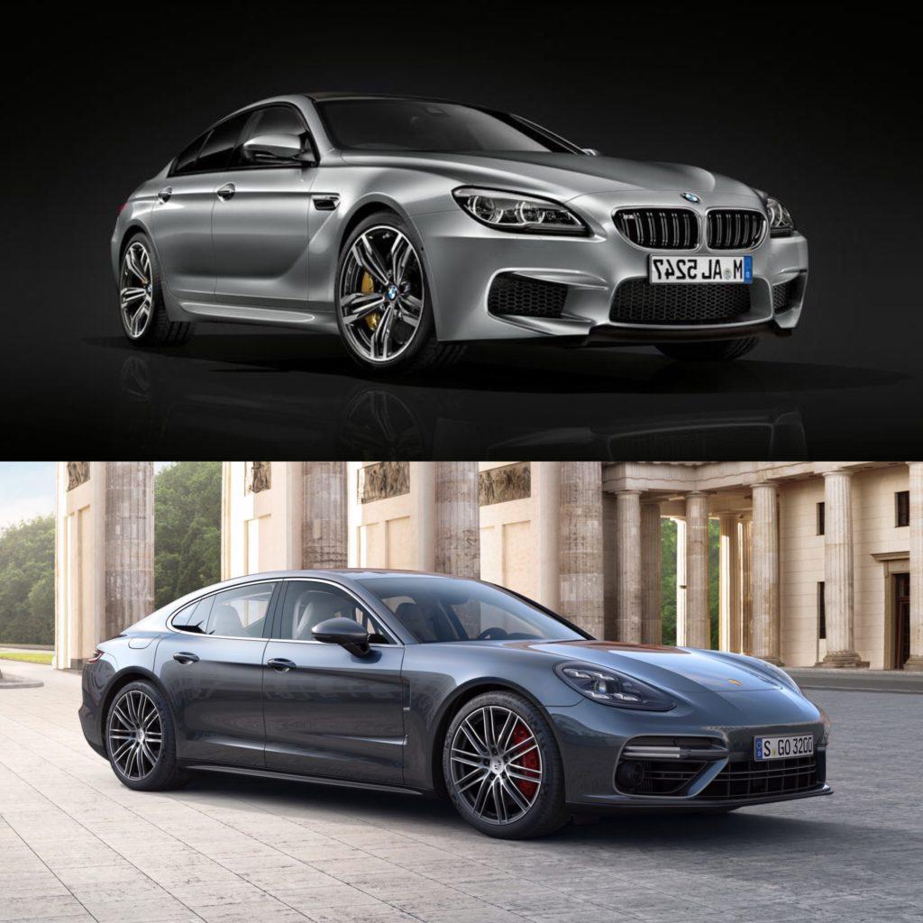 Photo Comparison 2018 Audi A7 Vs Bmw 6 Series Gran Turismo: Spec Comparison: BMW M6 Gran Coupe Vs 2017 Porsche Panamera