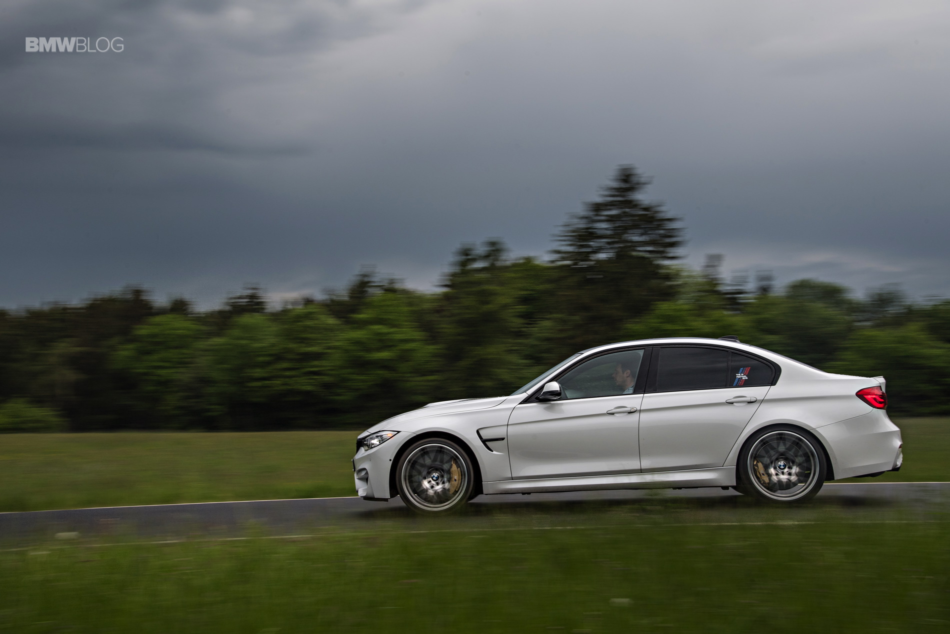 2016 BMW M3 Competition Package review 1