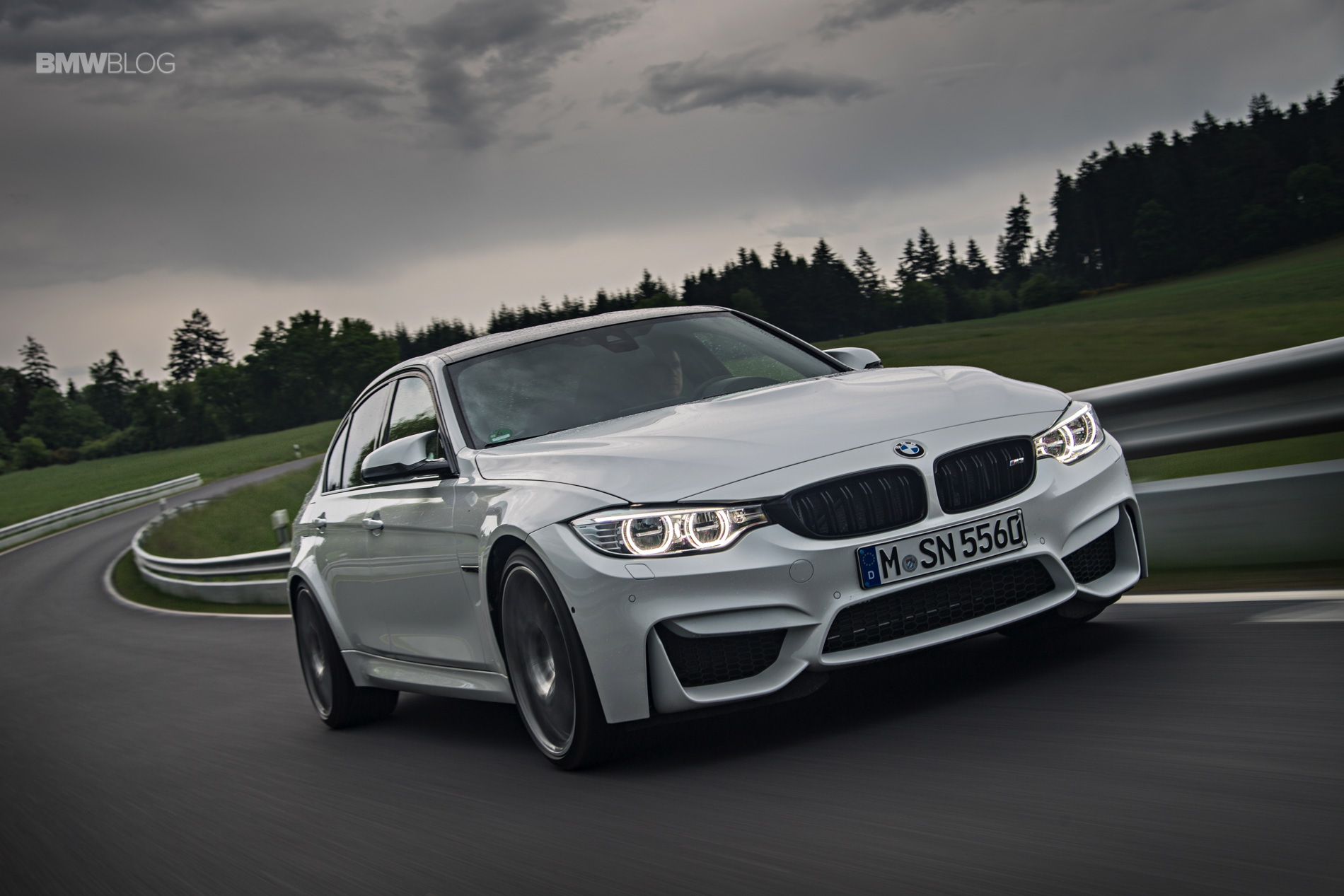 2016 BMW M3 Competition Package review 6