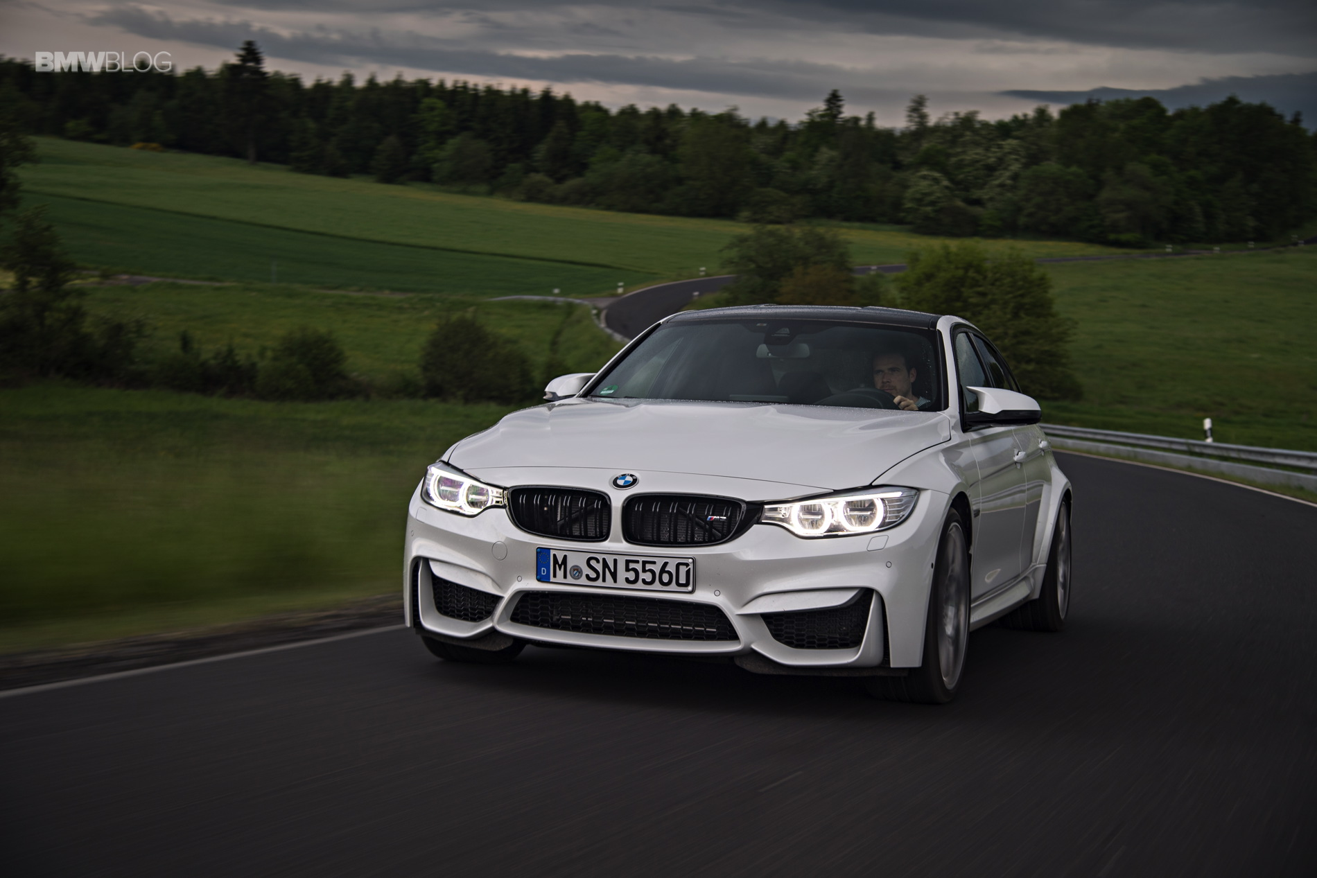 2016 BMW M3 Competition Package review 8