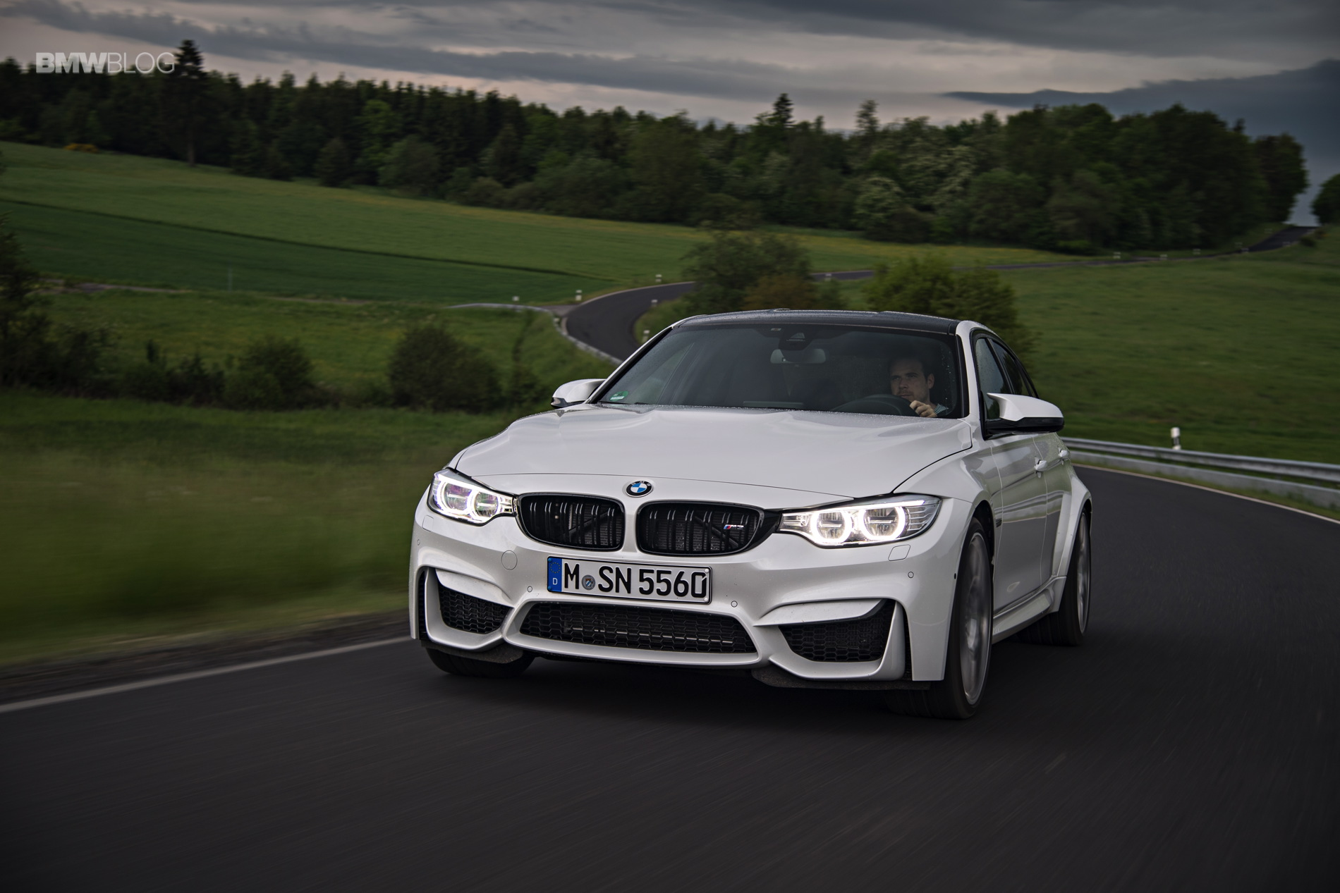 2016 BMW M3 Competition Package review 9
