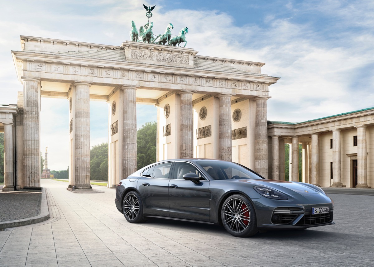 Potential Porsche Panamera Coup could take on BMW 8 Series