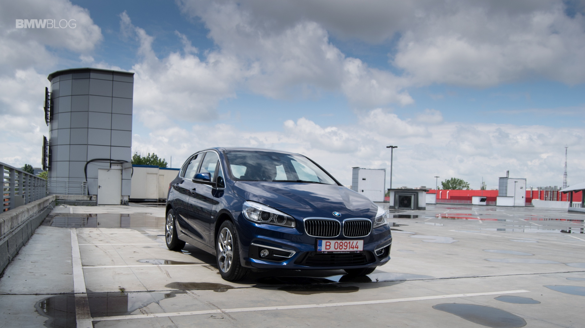 BMW 216d Active Tourer test drive 10