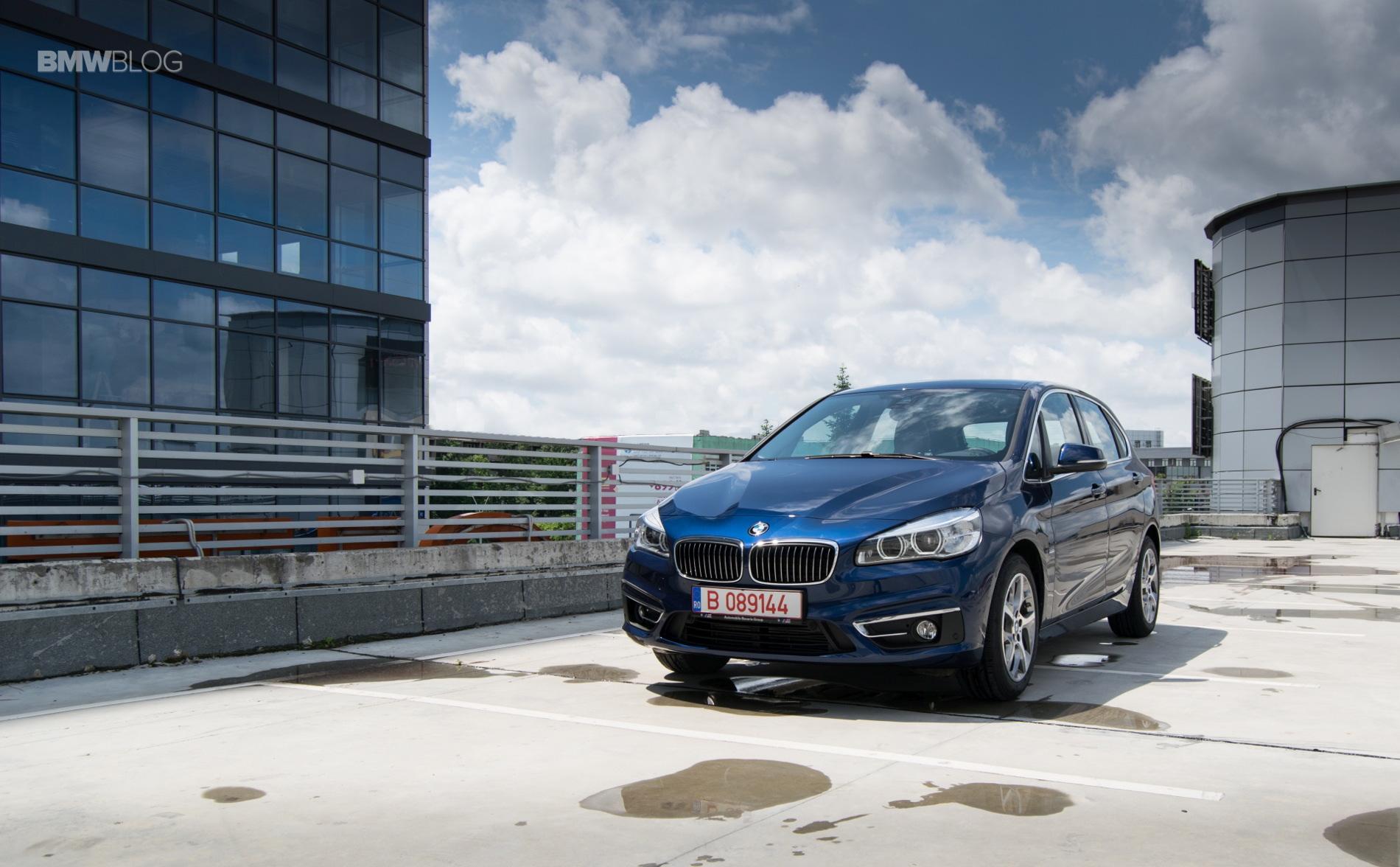 BMW 216d Active Tourer test drive 16