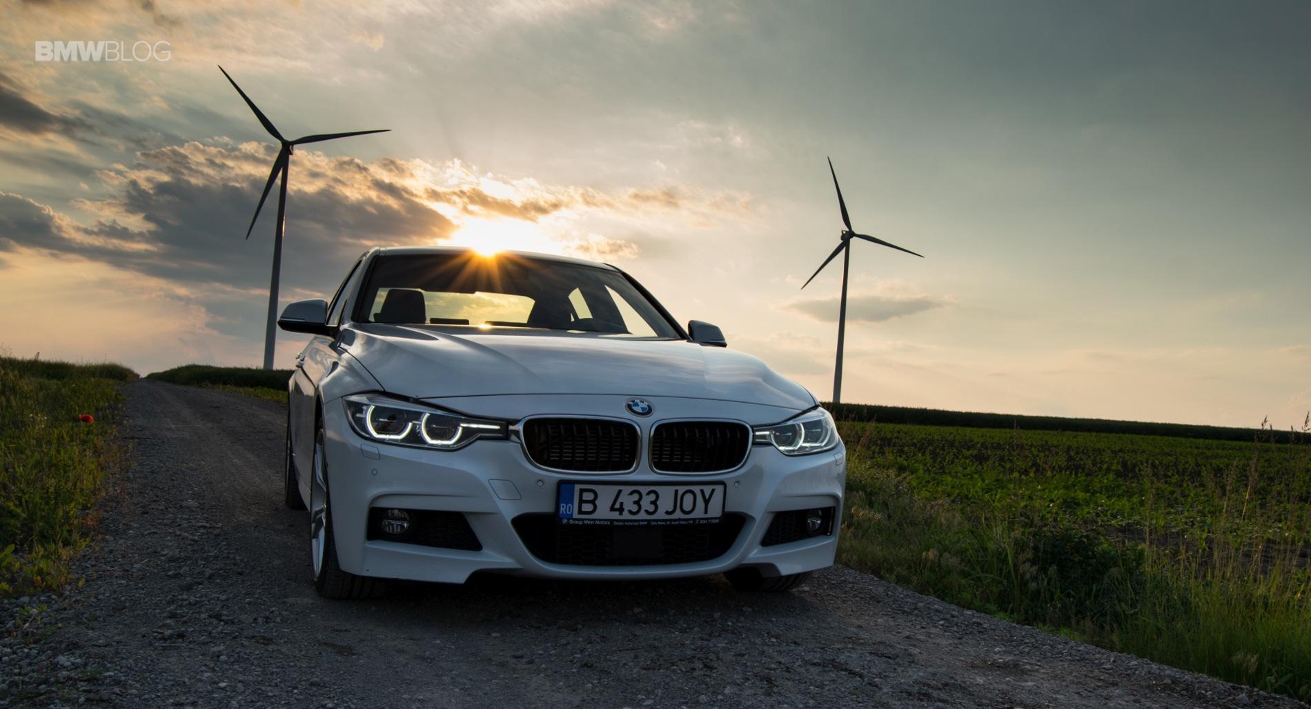 BMW 330e test drive review 54