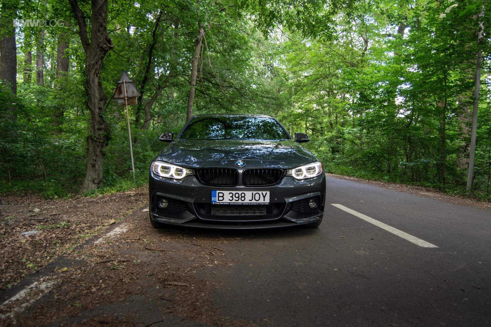 BMW 430d Gran Coupe test drive 34