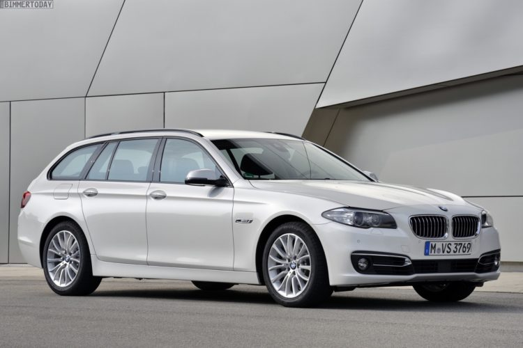 2012 Wagon Showdown Bmw 5 Series Touring Vs Audi A6 Avant
