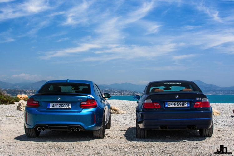 BMW E46 M3 vs BMW M2 15 750x500