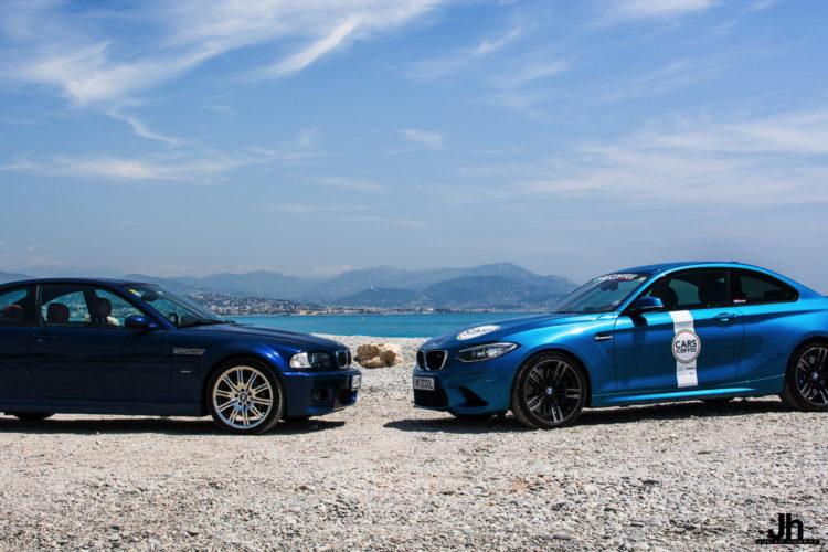 BMW E46 M3 vs BMW M2 2 750x500