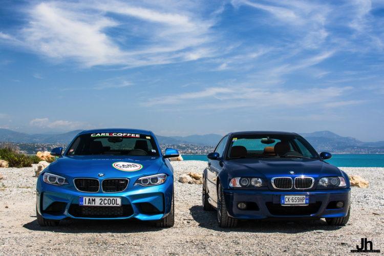 BMW E46 M3 vs BMW M2 20 750x500