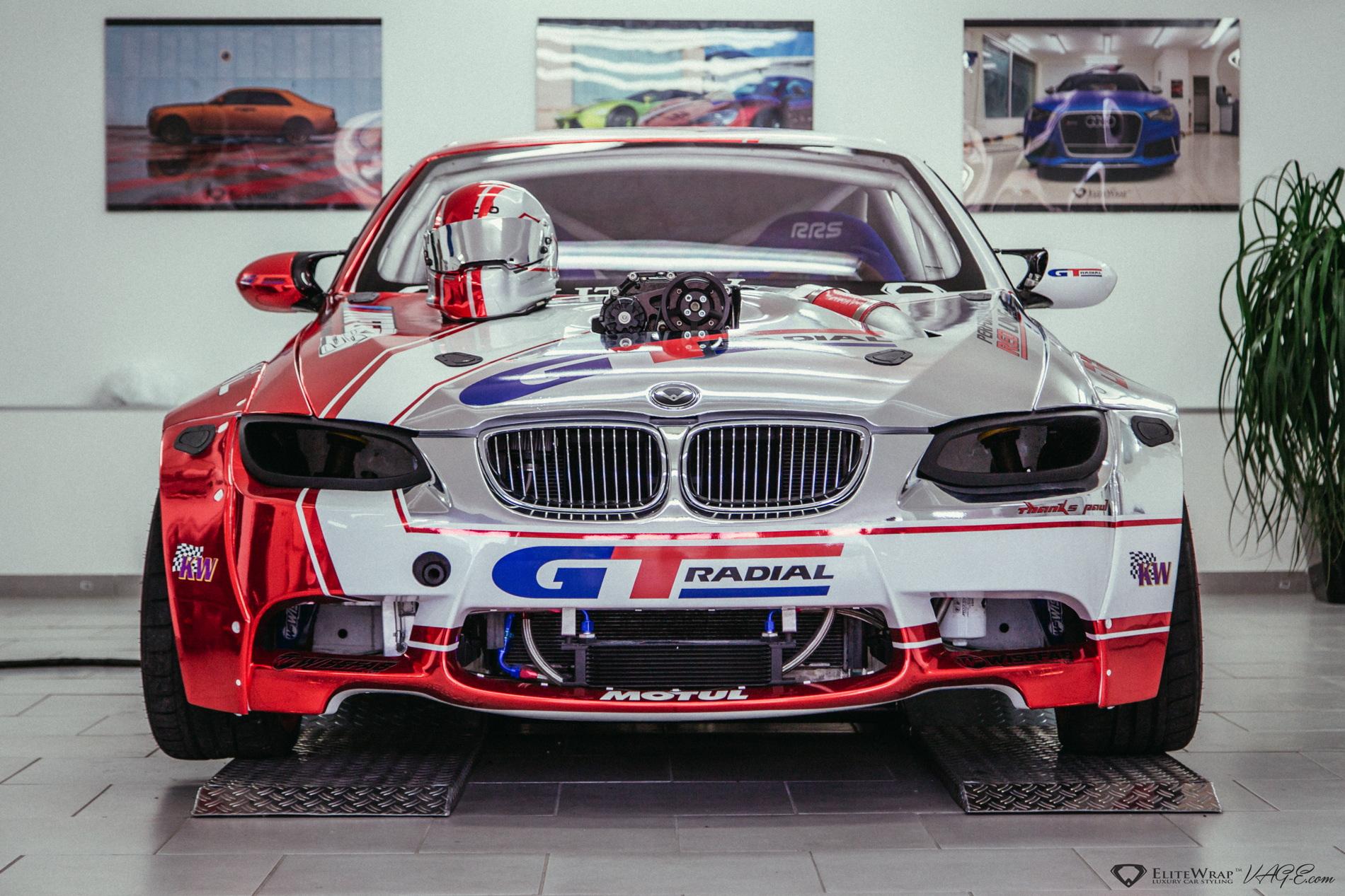 Video Bmw E93 M3 Drift Car Has A Supercharged Lsx Engine