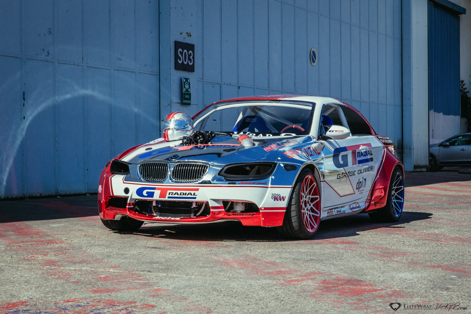 Video Bmw E93 M3 Drift Car Has A Supercharged Lsx Engine