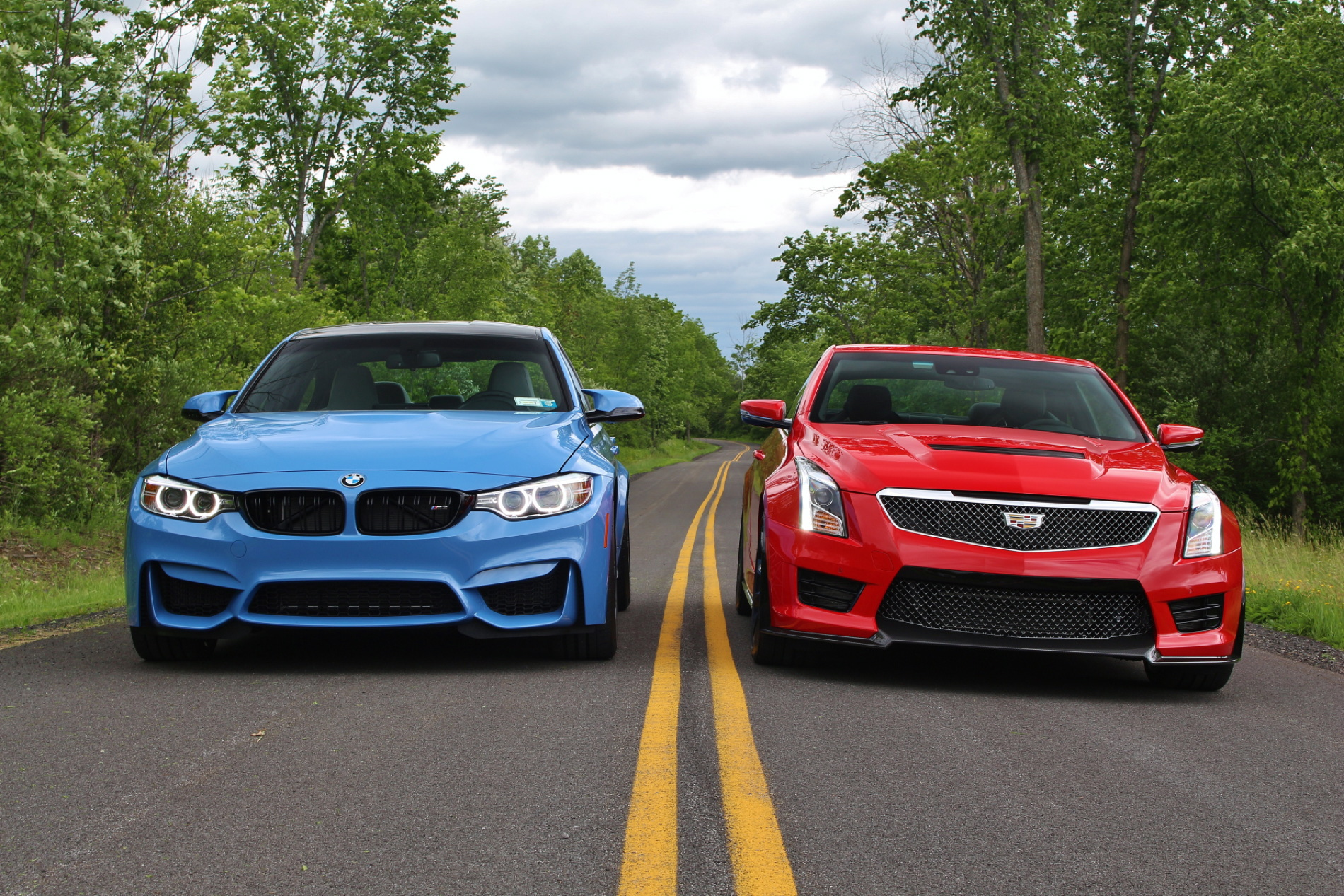 2016 Bmw M3 Competition Package Vs Cadillac Ats V Test Drive