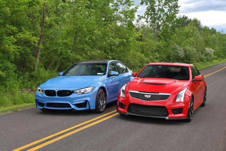 BMW M3 vs Cadillac ATS V 8 750x500