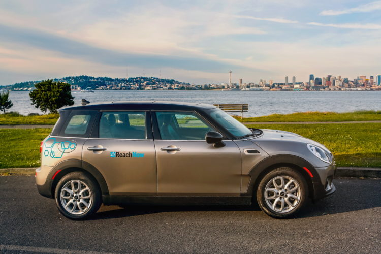 ReachNow Seattle BMW MINI 10 750x500