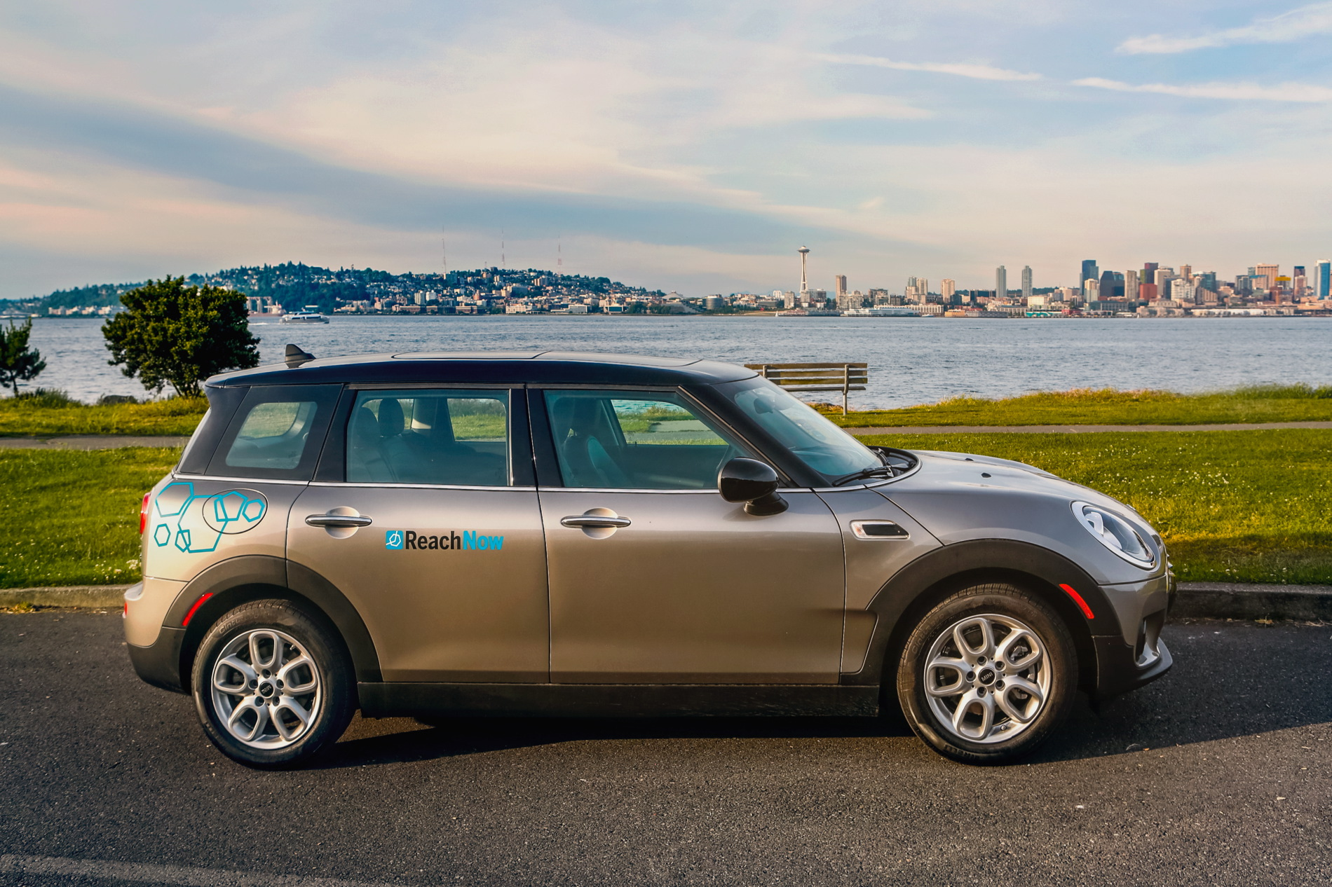 You Can Now Rent Out Your MINI Through ReachNow in Seattle
