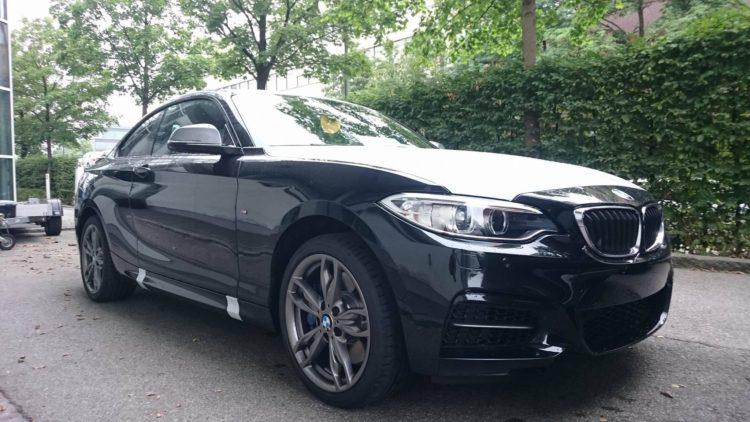 2016 BMW M240i Coupe F22 340 PS B58 schwarz 01 1 750x422