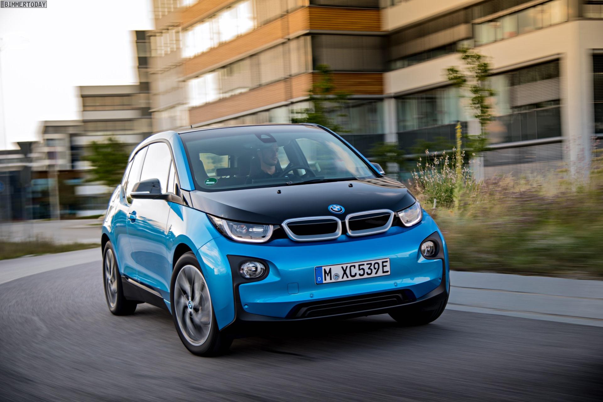 2016 BMW i3 94Ah Protonic Blue 33 kWh Elektroauto 01