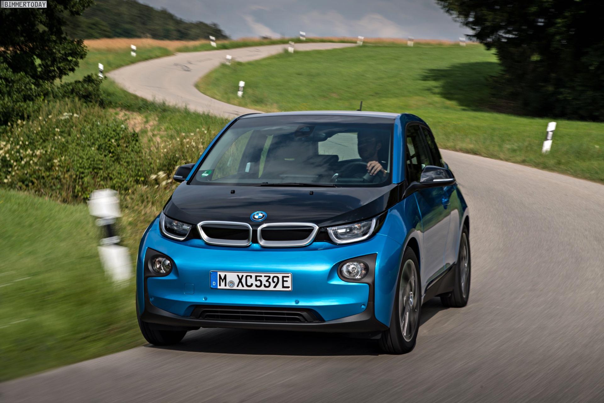 2016 BMW i3 94Ah Protonic Blue 33 kWh Elektroauto 14