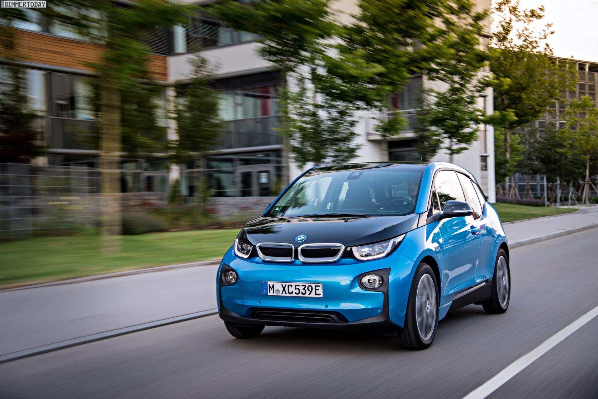 2016 BMW i3 94Ah Protonic Blue 33 kWh Elektroauto 18