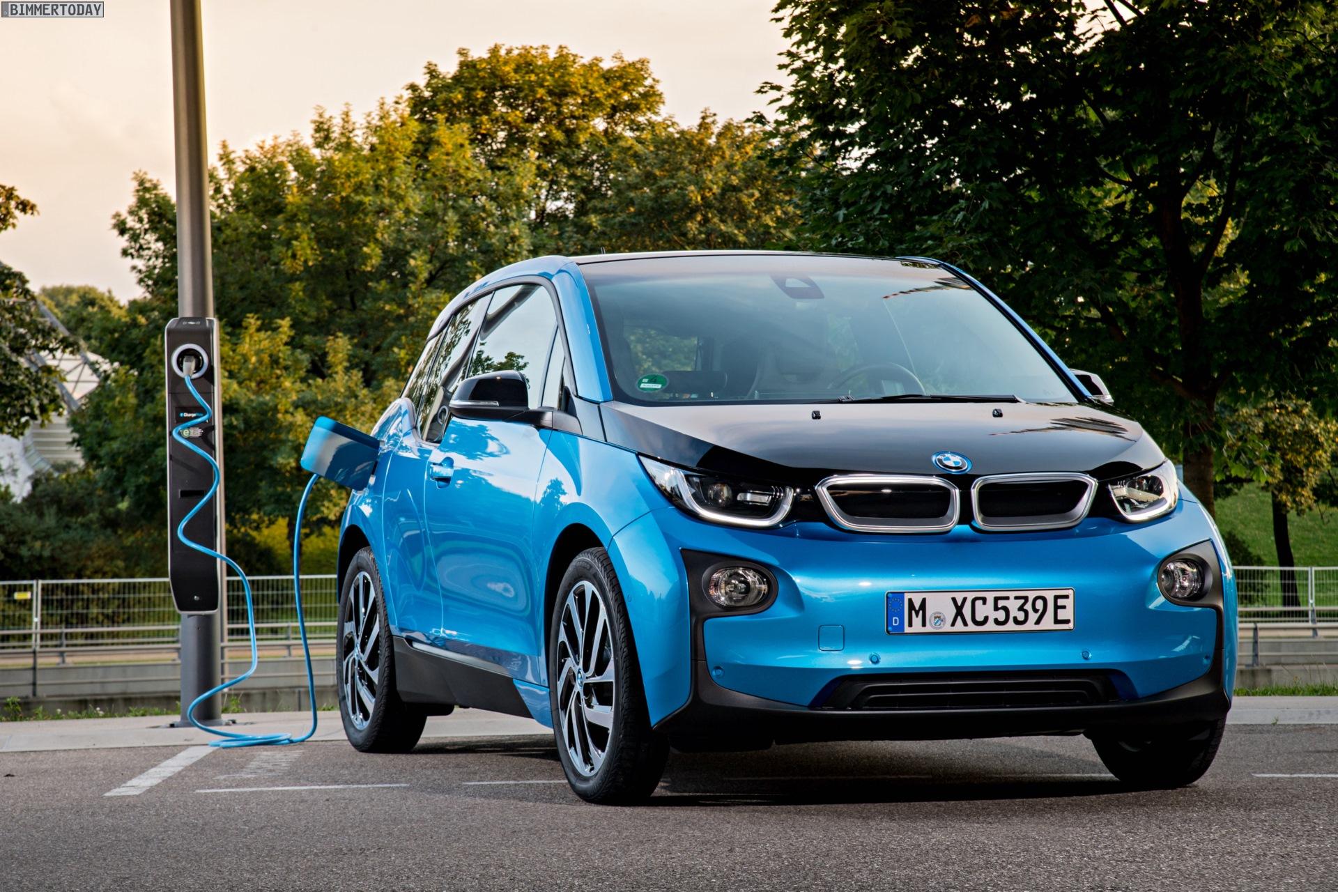 2016 BMW i3 94Ah Protonic Blue 33 kWh Elektroauto 23
