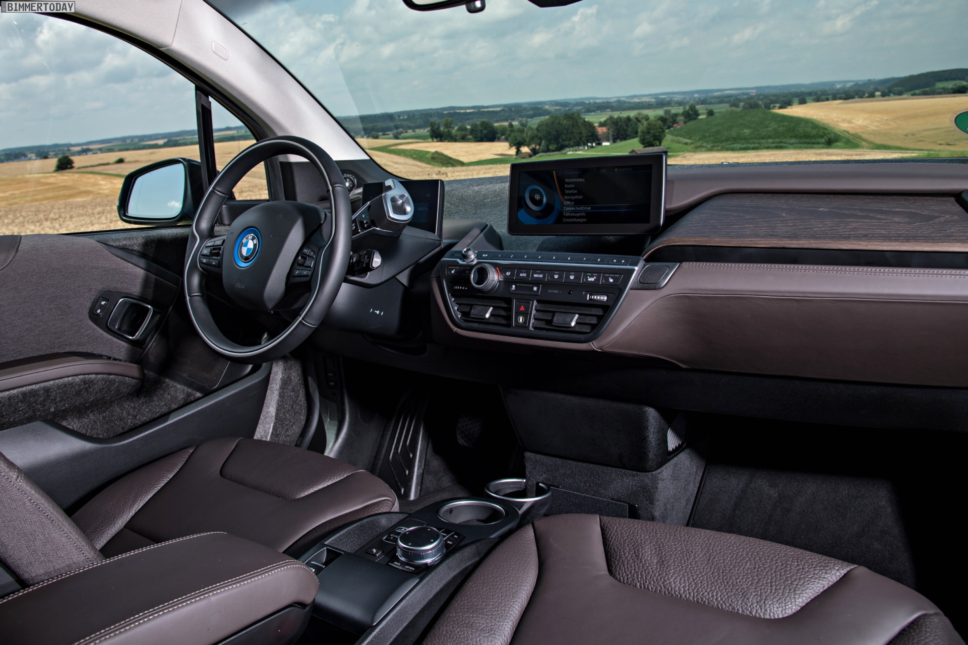 Bmw I3 May Have The Coolest Car Interior