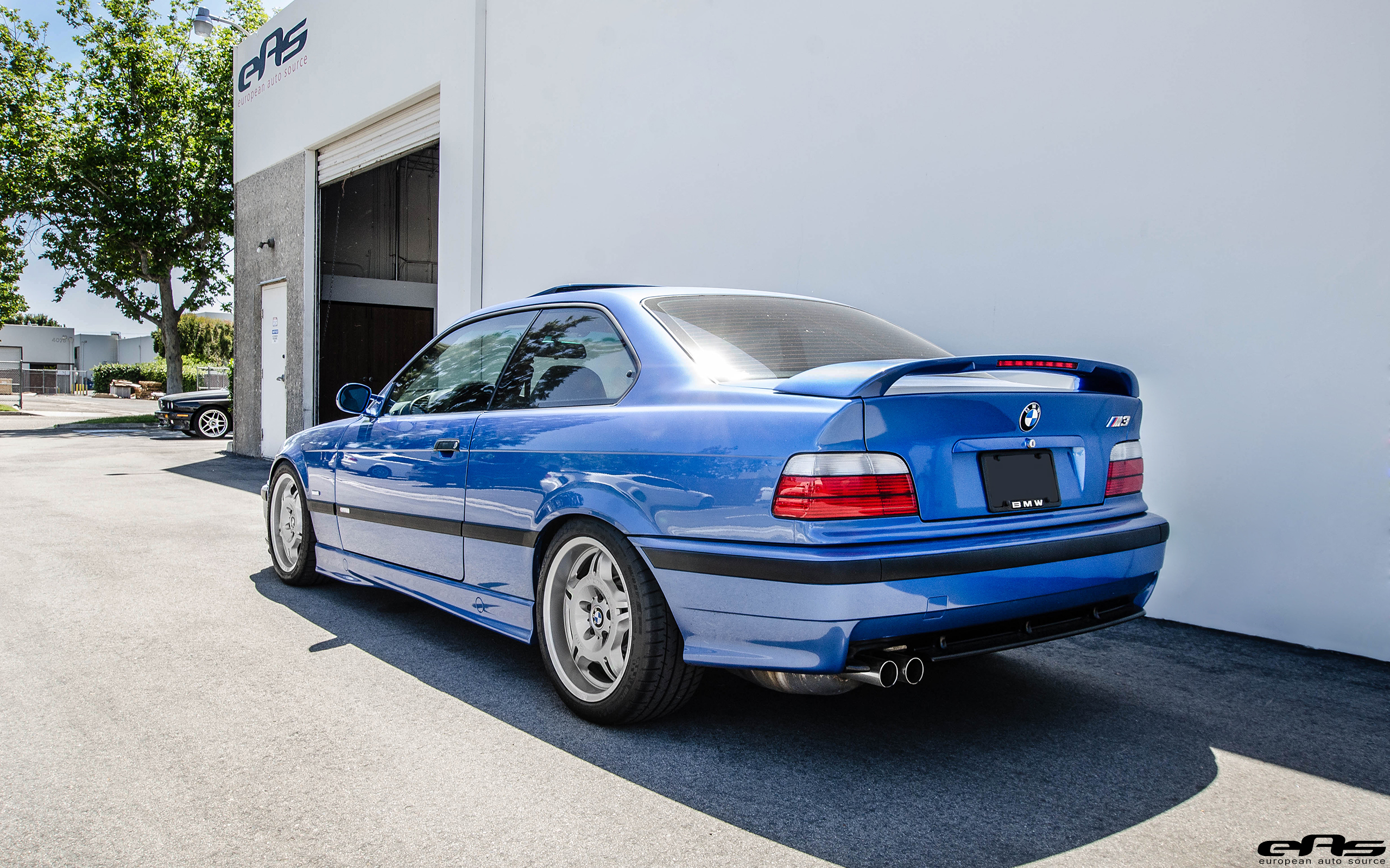 Clean Estoril Blue Bmw E36 M3 Is Still A Looker Today