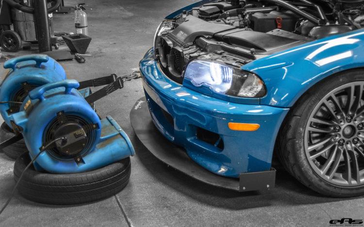 A Time Attack Laguna Seca Blue E46 M3 In Detail 5 750x469