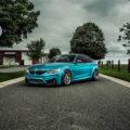Atlantis Blue BMW M4