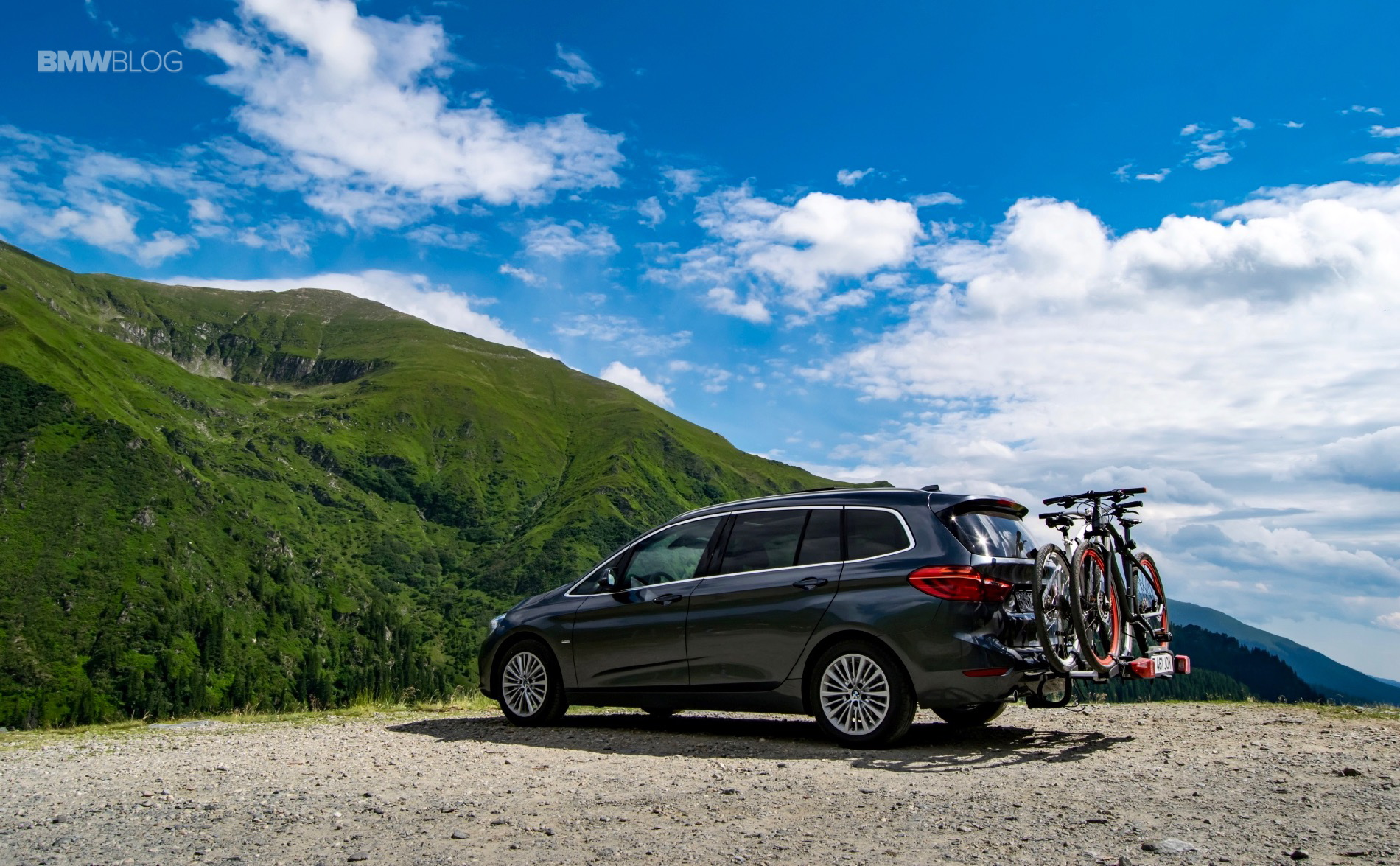 BMW 218d Gran Tourer test drive 53