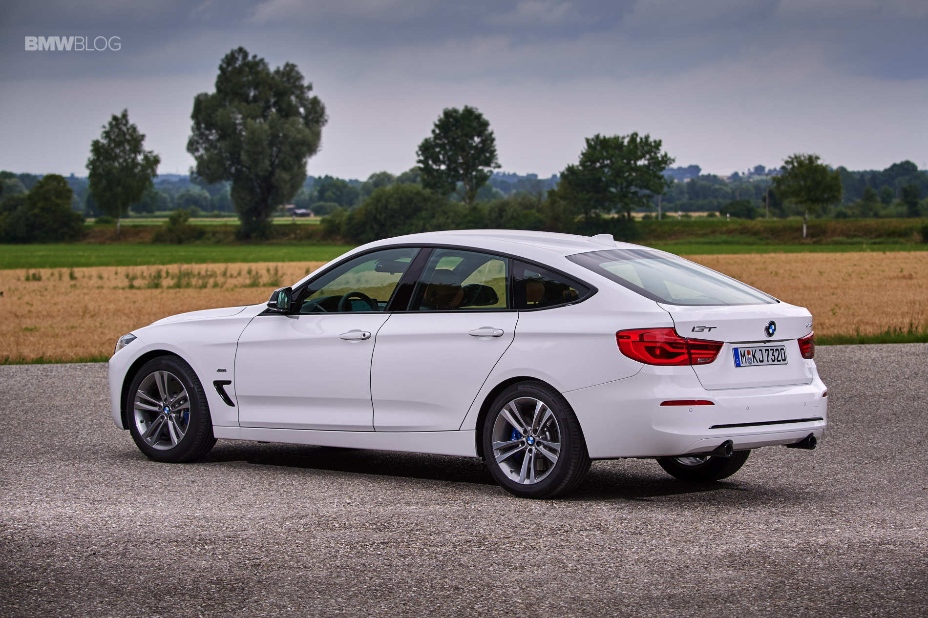 World Premiere Bmw 3 Series Gran Turismo Facelift