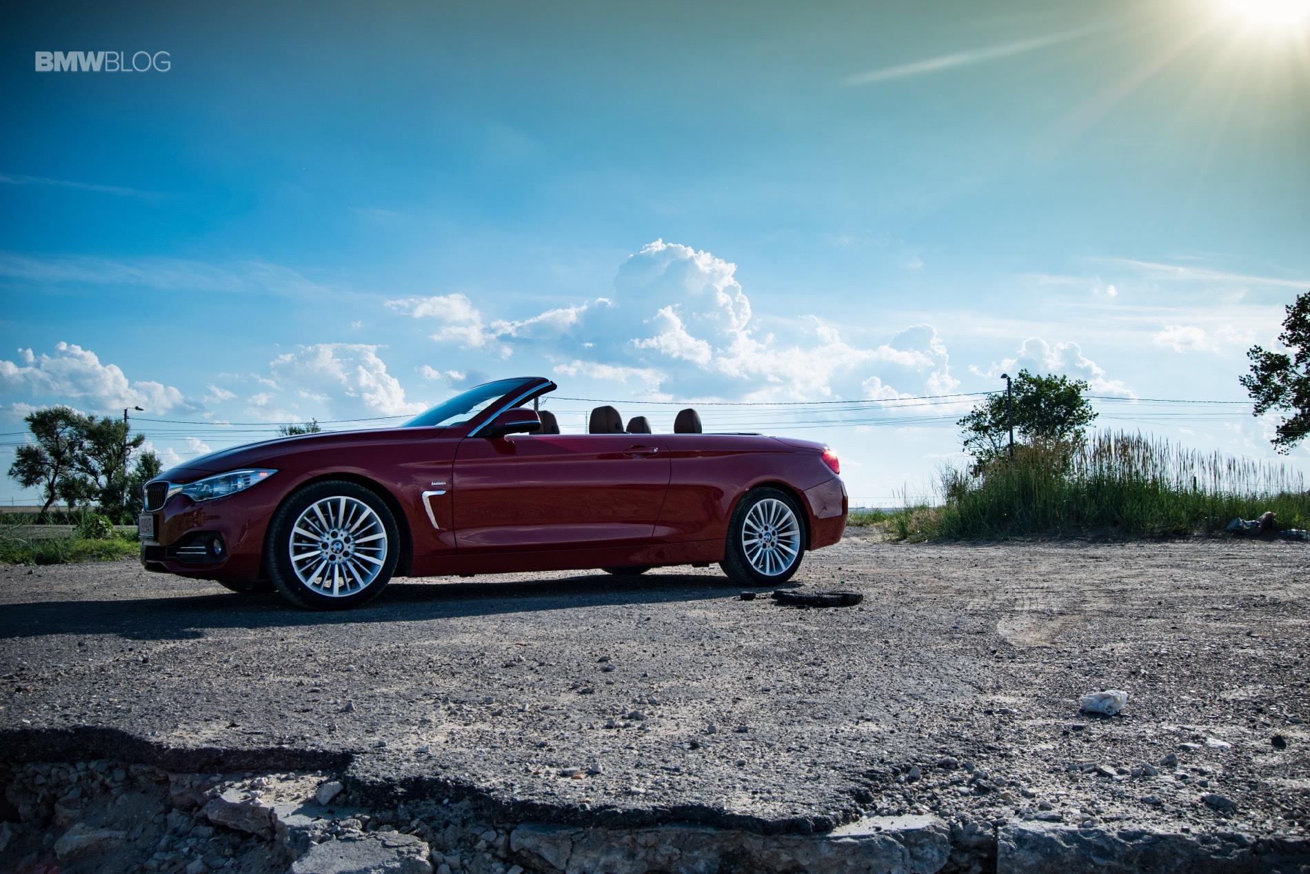 BMW 420i convertible test drive 38