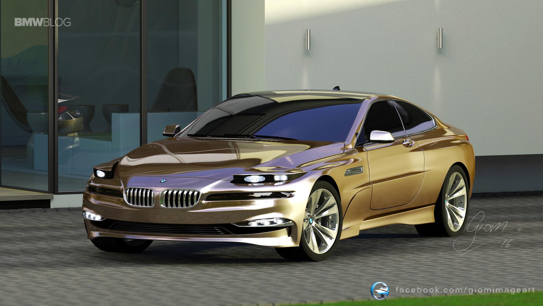 BMW 8 Series Tribute - Design Study