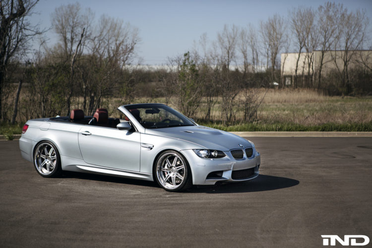 BMW E92 M3 Convertible Gets New Wheels 2 750x500