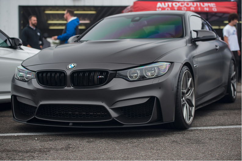 BMW M4 Coupe frozen grey