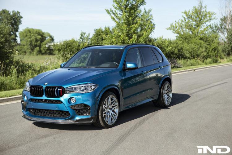 BMW X5 M Gets A Carbon Fiber Front Lip Installed 3 750x500