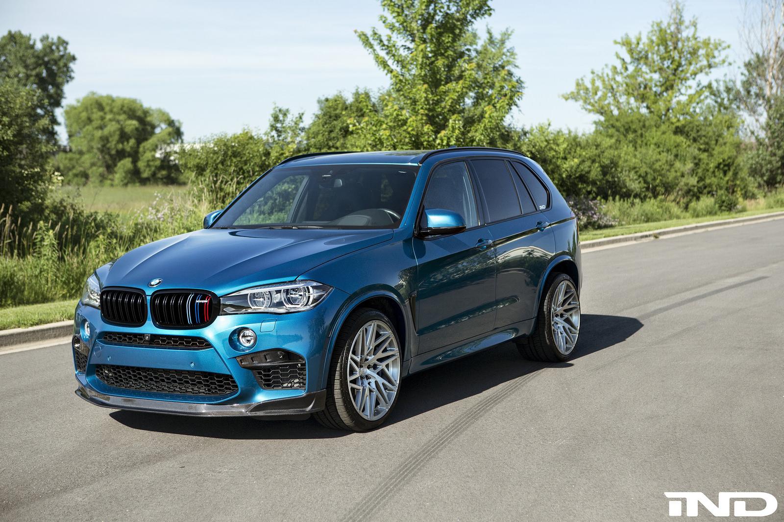 Bmw X5 Monster Truck >> Long Beach Blue BMW X5 M gets a makeover