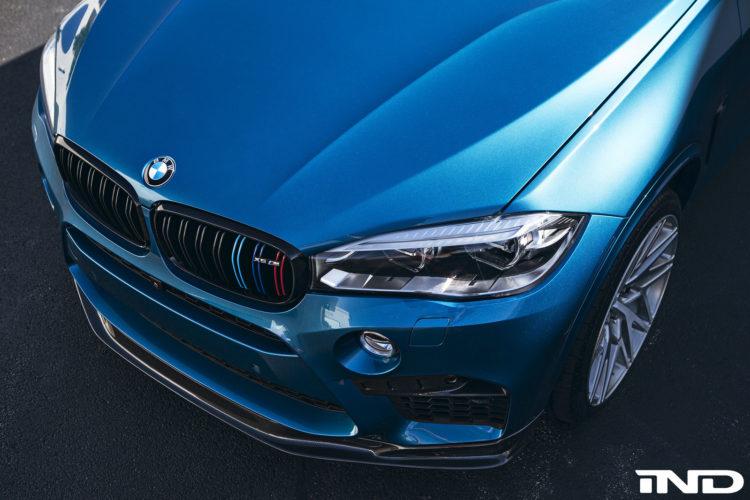 BMW X5 M Gets A Carbon Fiber Front Lip Installed 5 750x500