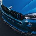 BMW X5 M Gets A Carbon Fiber Front Lip Installed