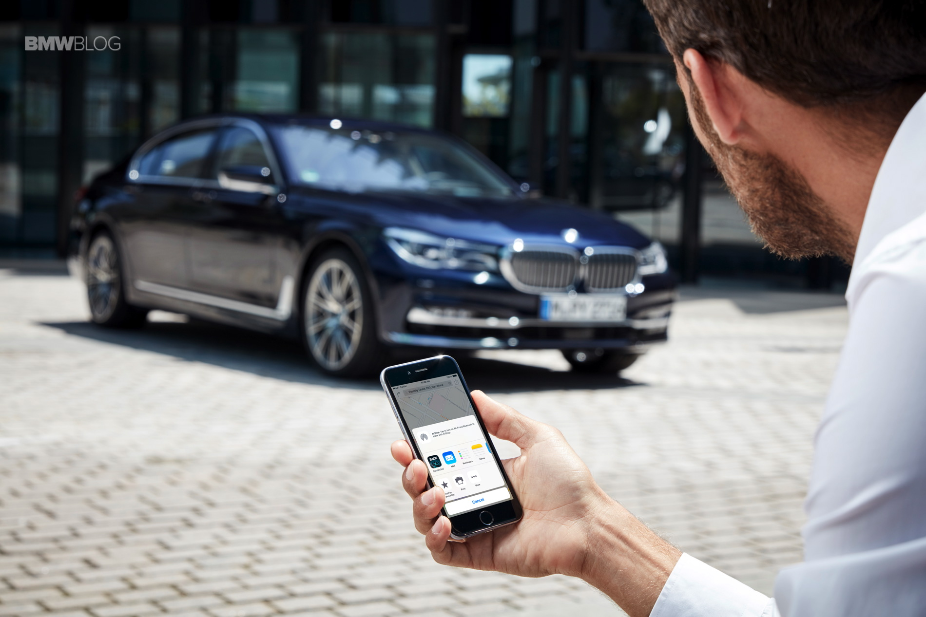 BMW connected services 5