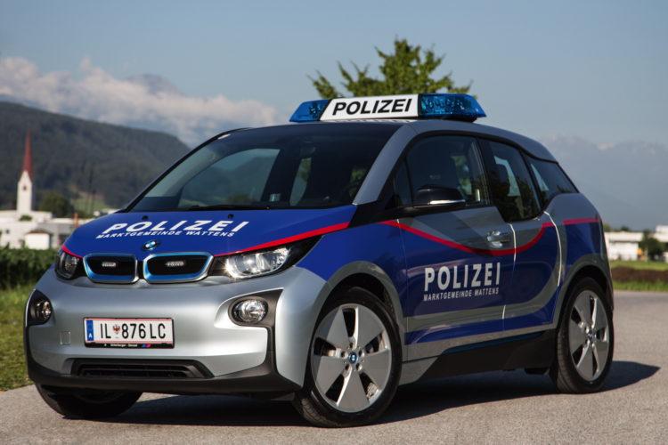 BMW i3 Police Cars Austria 1 750x500